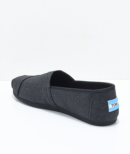 Toms Classics Glimmer zapatos negros