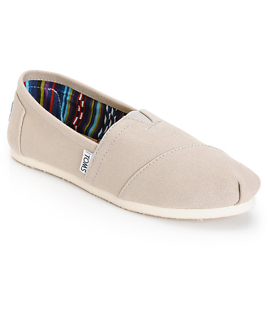Zapatos grises casual Toms para mujer q13kMJv3G