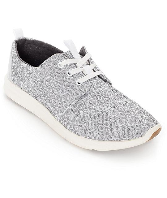 TOMS Del Rey Sneaker Gris lWXuI