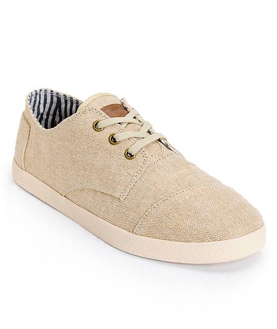 6359c052031 Toms Paseos Fine Burlap Mens Shoes