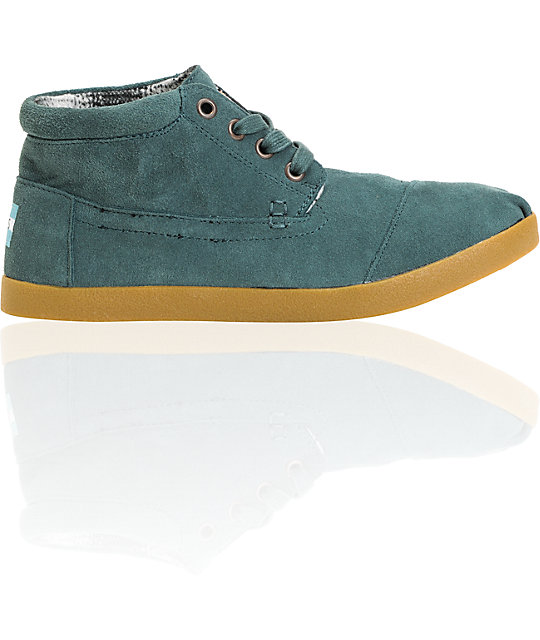 Toms Shoes Moss Suede Botas Womens Shoes