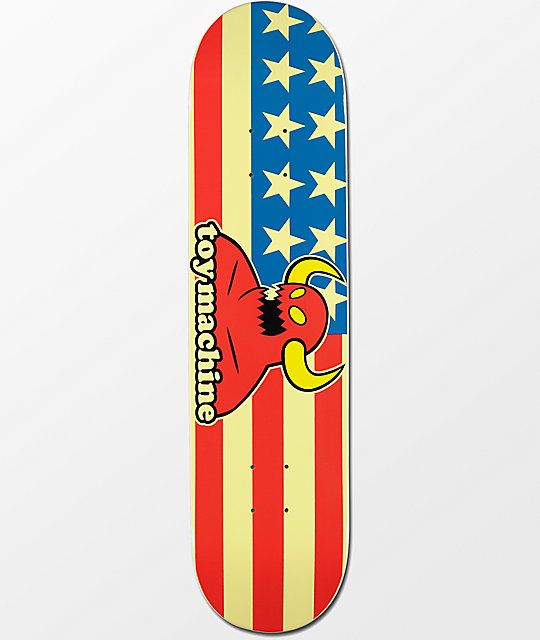 "Toy Machine American Monster 7.75"" Skateboard Deck"