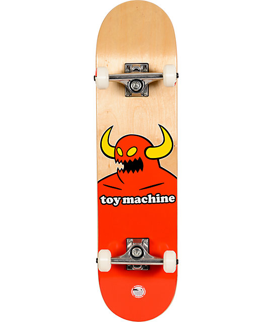 "Toy Machine Monster 7.75""  Complete Skateboard"
