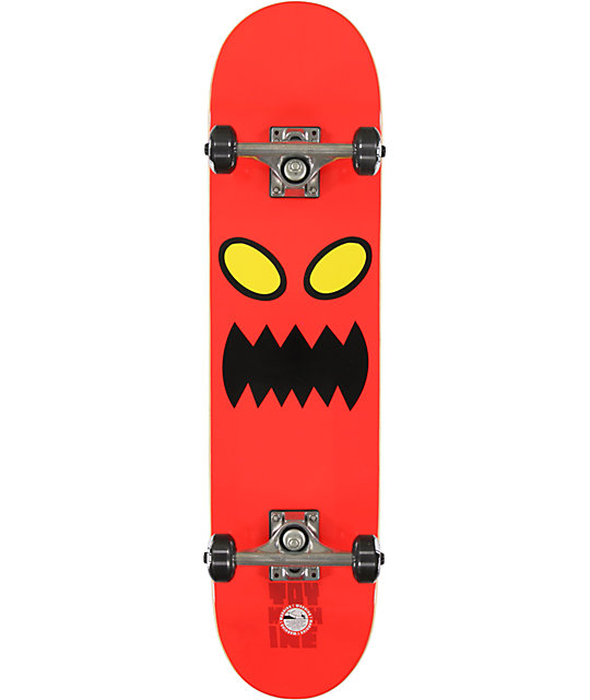 "Toy Machine Monster Face 7.75""  Complete Skateboard"