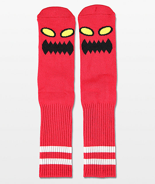 Toy Machine Monster calcetines rojos
