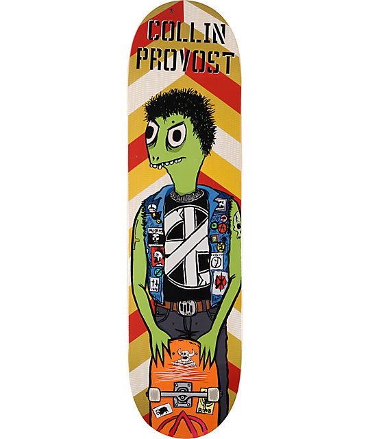 "Toy Machine Provost Punk 8.25""  Skateboard Deck"