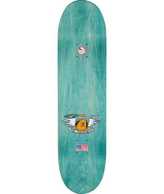 "Toy Machine Provost Stairway 8.37""  Skateboard Deck"