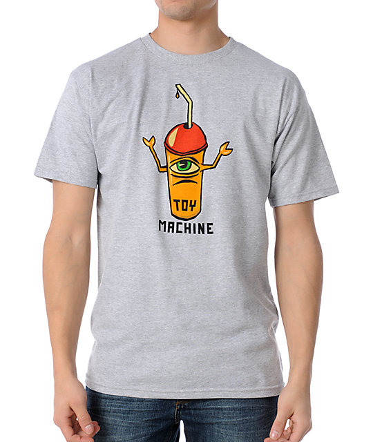 Toy Machine Squishy Sect Grey T-Shirt
