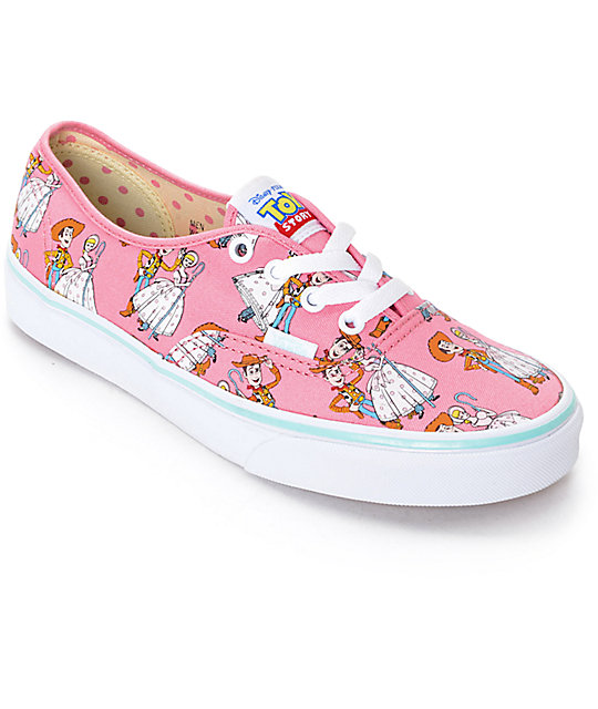 Toy Story x Vans Authentic Toy Story Woody   Bo Peep Shoes  0557b9f2b