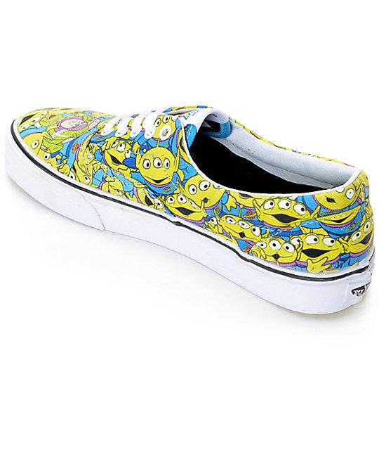 23281ddfa08 ... Toy Story x Vans Era Alien Print Shoes ...