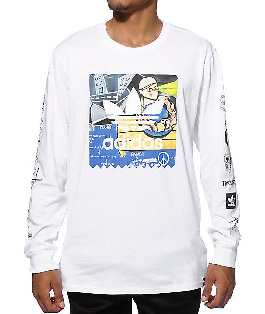 3a9050e5 Trap Lord x adidas A$AP Ferg Long Sleeve T-Shirt | Zumiez