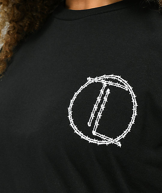Traplord Barbed Black Long Sleeve T-Shirt
