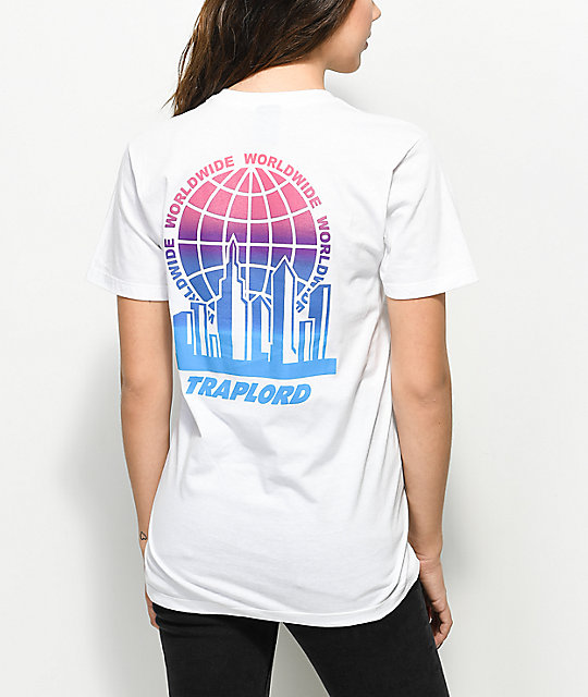 Traplord Worldwide White T-Shirt