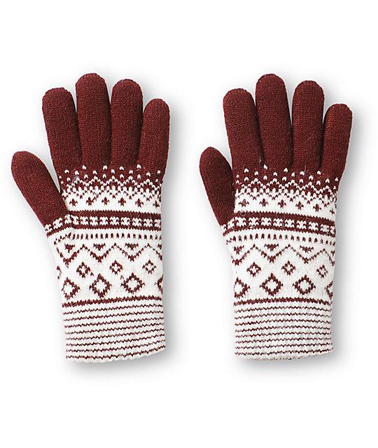 Trillium Rachel Fair Isle Gloves | Zumiez