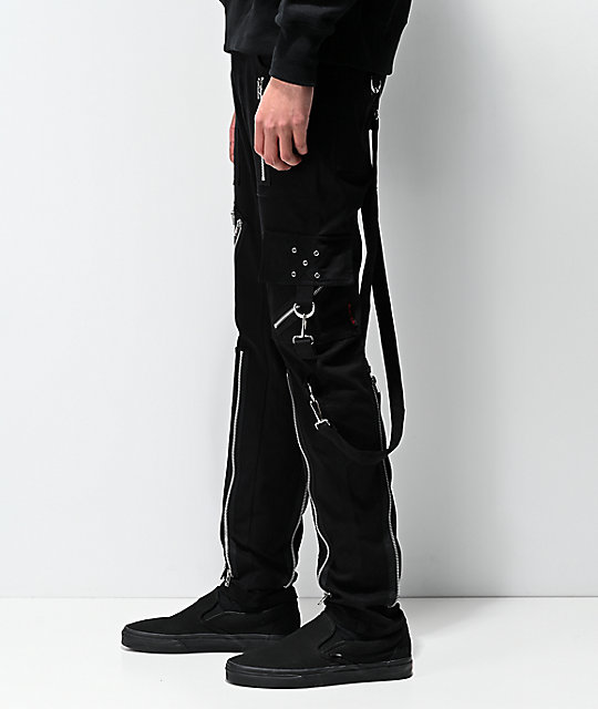 Tripp NYC Slim 2.0 Black Bondage Pants