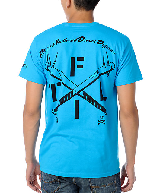 True Love & False Idols Team Reggie Turquoise T-Shirt