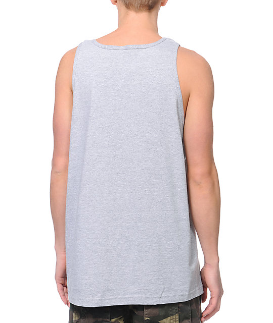 Trukfit  Drip Grey Tank Top
