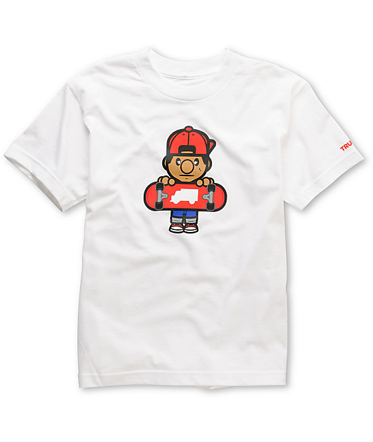 Trukfit Boys Lil Tommy White T-Shirt
