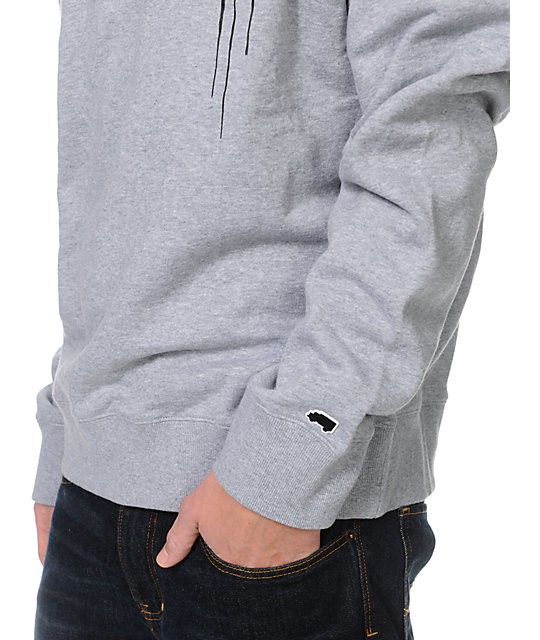Trukfit Drip Grey Crew Neck Sweatshirt