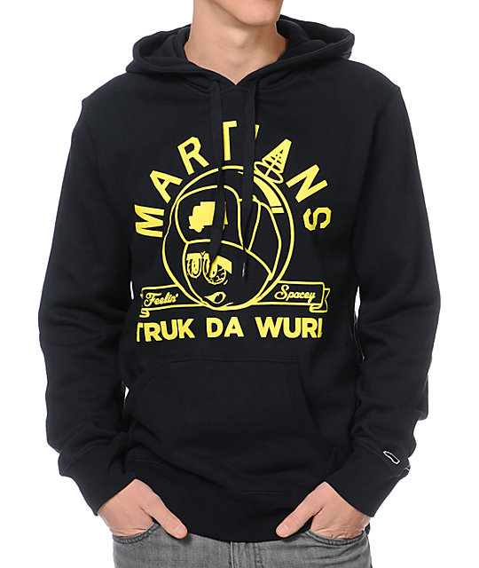 Trukfit Feelin Spacey Black Pullover Hoodie