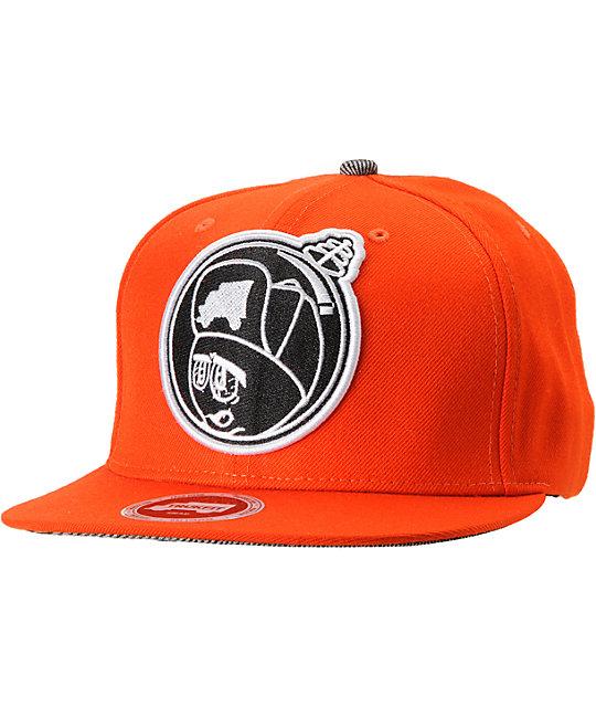 0b6e433620b97 Trukfit Feelin Spacey Tango Orange Snapback Hat