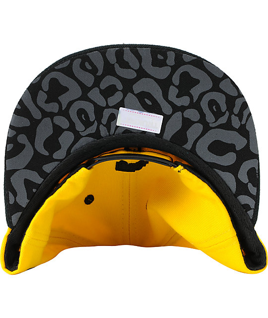 ... Trukfit Filthy Chenille Yellow Snapback Hat 97633570ecb4