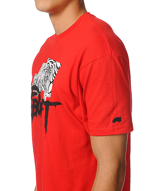 Trukfit Foundation Red T-Shirt