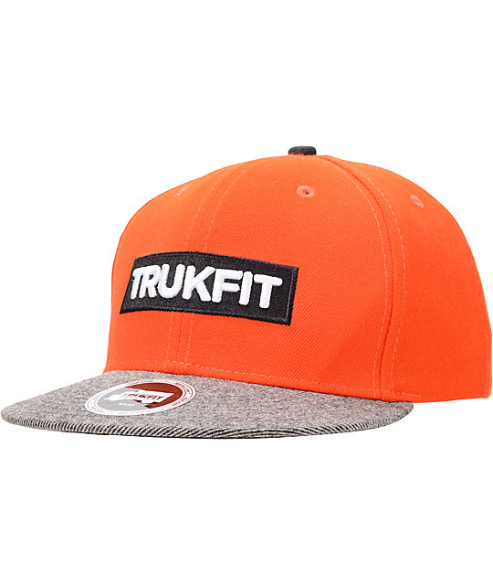 Trukfit Original Tango Orange Snapback Hat