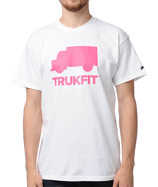 Trukfit Space Icon White T-Shirt