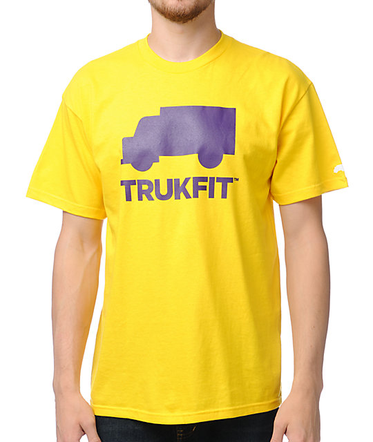 Trukfit Space Icon Yellow T-Shirt