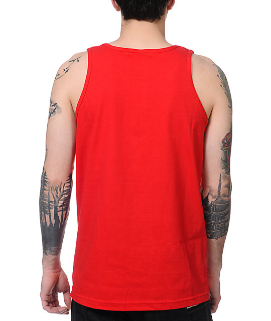 Trukfit Stardrip Red Tank Top