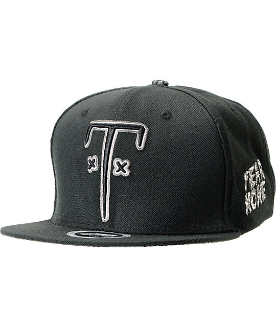 Trukfit TF Black Snapback Hat