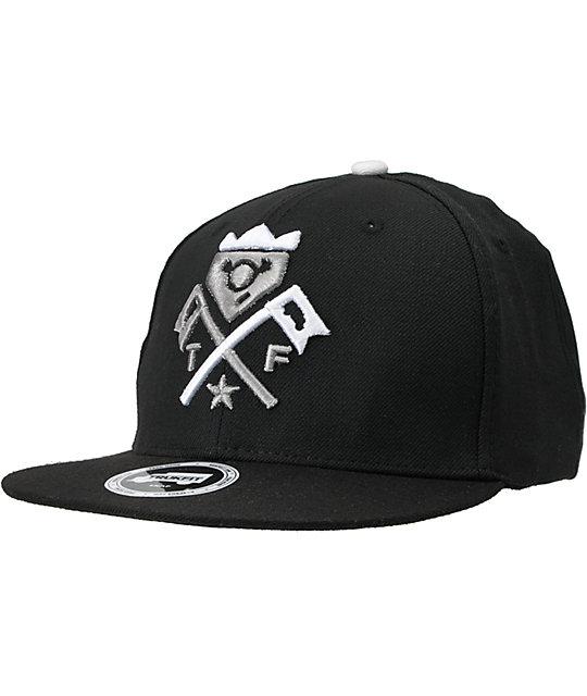 Trukfit Truck It Black Snapback Hat  bf89f247be93