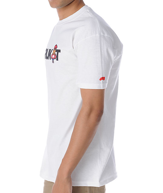 Trukfit Truk It Logo White T-Shirt