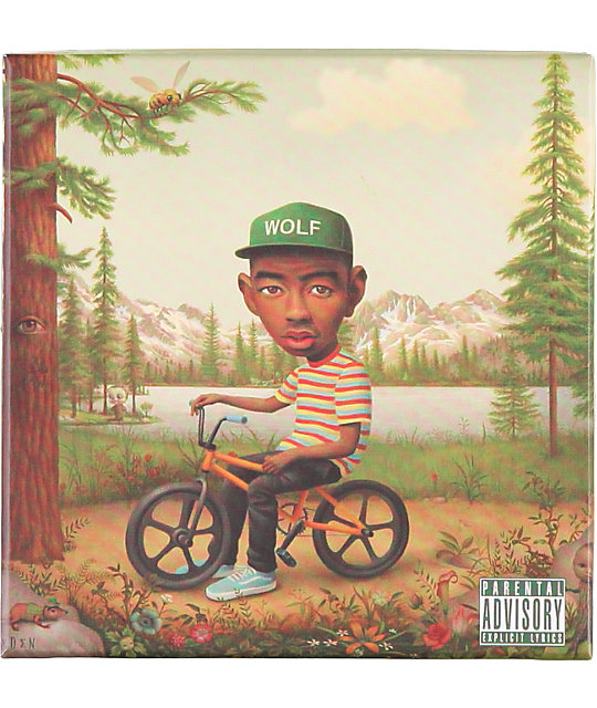 Tyler The Creator Wolf Deluxe Edition CD