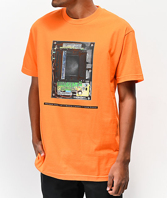 ULT Open Chassis Orange T-Shirt