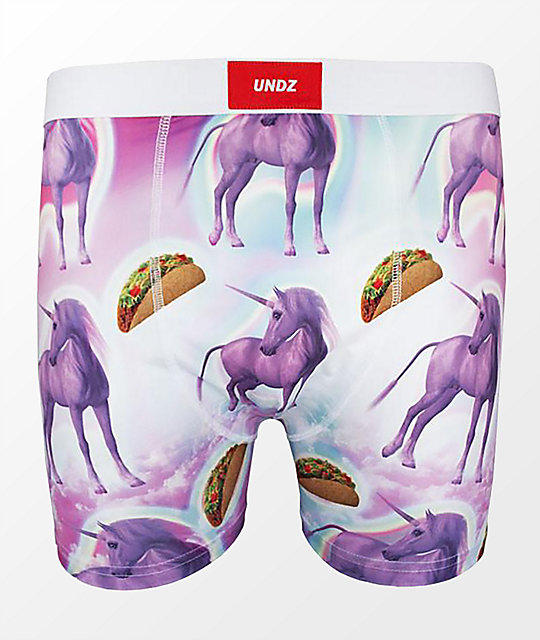 UNDZ Unicorn & Taco Boxer Briefs