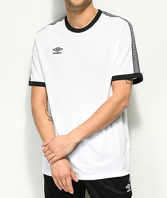 5918411a39cb Umbro Diamond White   Black Jersey