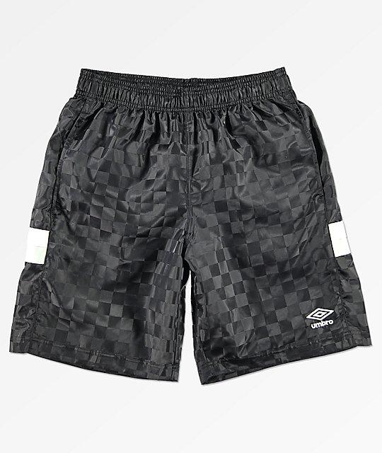 amazone gezellig fris popul Umbro Tri-Checkered Black Shorts
