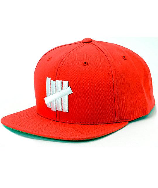 c1c4273e Undefeated 5 Strike Snapback Hat | Zumiez