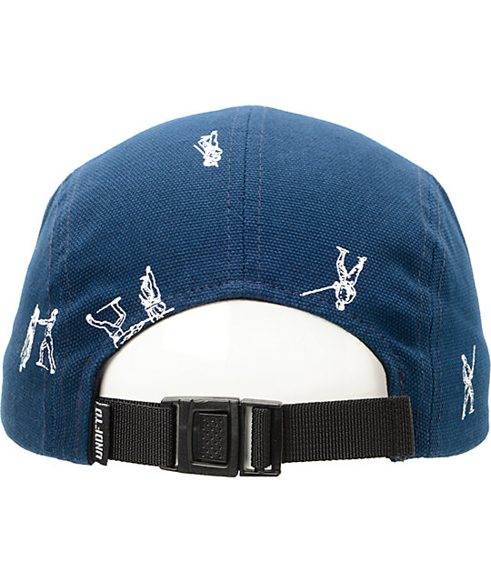 ... Undefeated Action Camp Navy 5 Panel Hat 20a0d39b2a2f