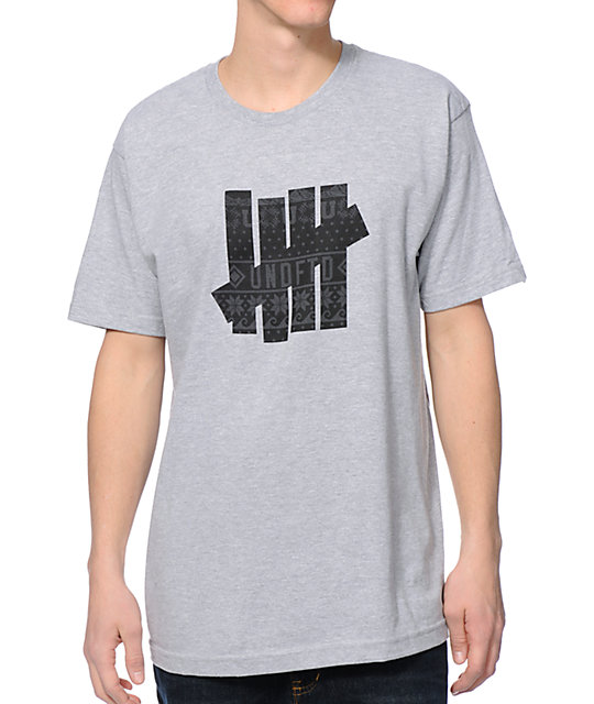Undefeated Ascender 5 Strike Greay T-Shirt