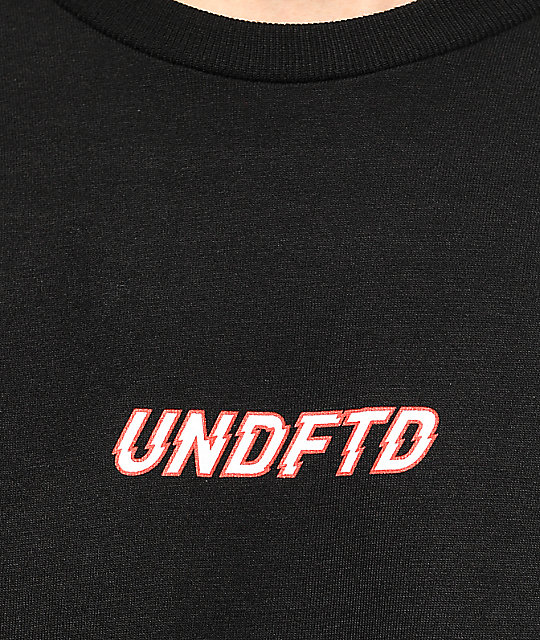 Undefeated Breakneck camiseta negra