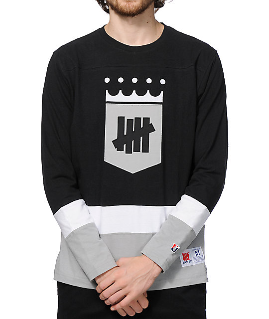 cheap for discount 12e31 98a6c Undefeated Inter League Long Sleeve Jersey T-Shirt