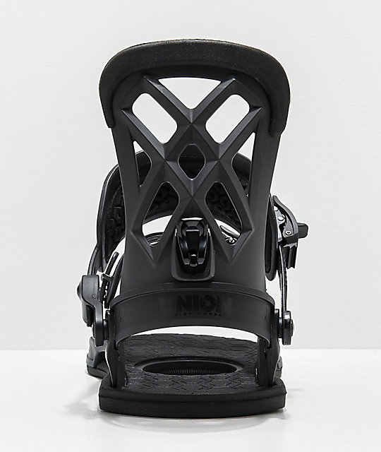 Union Contact Pro Black Snowboard Bindings 2020