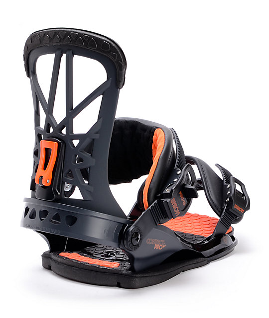 Union Contact Pro Black Snowboard Bindings