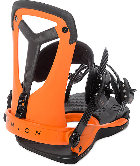 Union Falcor Orange Snowboard Bindings