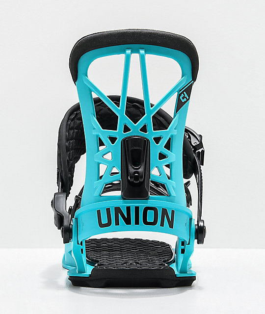 Union Flight Pro Blue Snowboard Bindings 2020