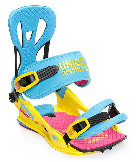 Union Flite CMYK Snowboard Bindings