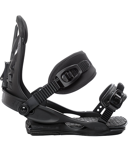 Union Flite Pro Black Snowboard Bindings